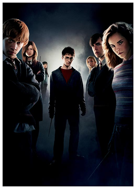 Портретный постер Harry Potter / Гарри Поттер
